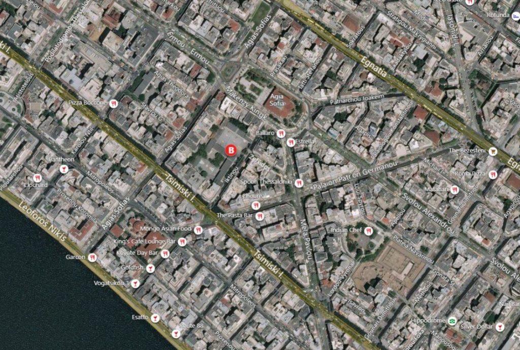 2ο ΓΕΛ Θεσσαλονίκης, Ικτίνου 5